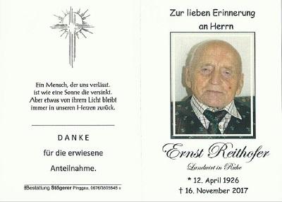 Ernst Reithofer