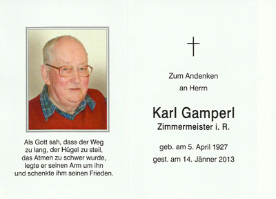 Karl Gamperl