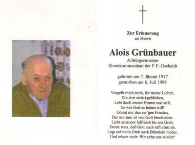 Alois Grünbauer