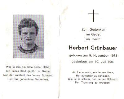 Herbert Grünbauer