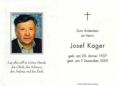 Josef Kager