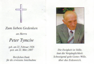 Peter Tymciw