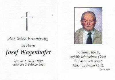 Josef Wagenhofer