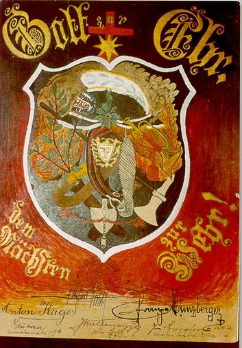 Wappen der FF Gschaidt 1920