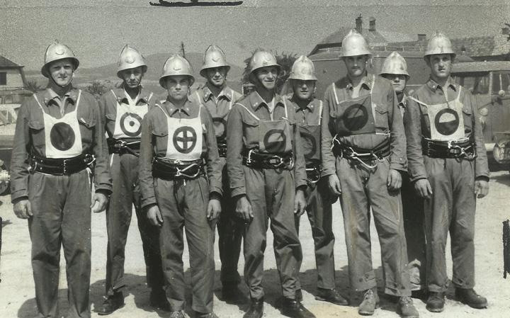 Erste Wettkampfgruppe 1966